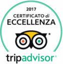 Trip Advisor 2017 certificato eccellenza