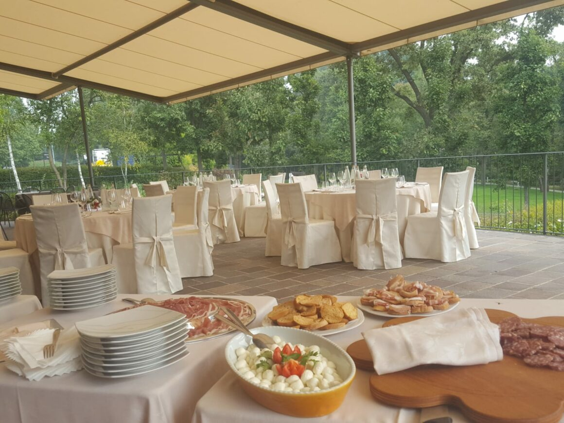 allestimento ristorante per matrimonio