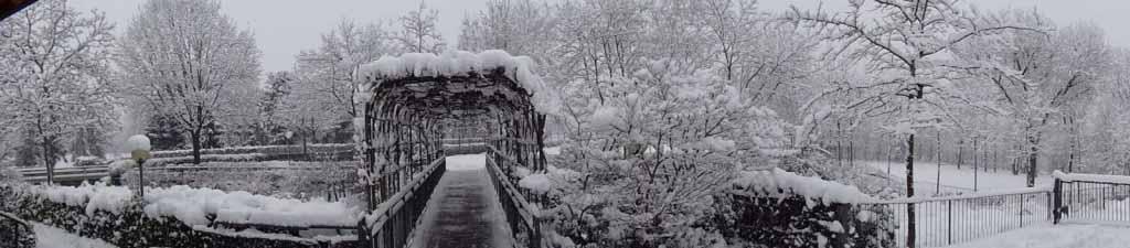 Ristorante per ricevimento in inverno